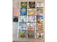 Pink Dsi and 15 games