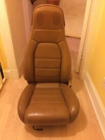 Mx5 Tombstone seats with rails