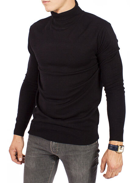 Men's Polo-Neck Jumpers
