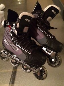 Bauer xr glide roller skates  Kawartha Lakes Peterborough Area image 1