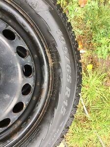 Pirrelli Winter tires 195/65/R15 Gatineau Ottawa / Gatineau Area image 2