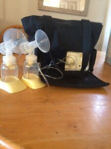 Medela breast pump, double, all accessories included
