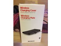 Sony z3 wireless charging plate and case