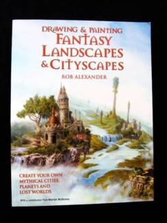 Drawing & Painting Fantasy Landscapes & Cityscapes - R.Alexander