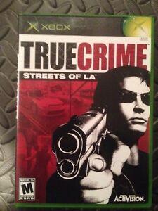 True Crime: Streets of L.A. (Microsoft Xbox, 2003) Regina Regina Area image 1