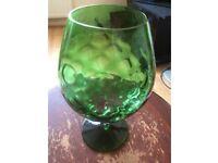 Vintage Brandy Glass
