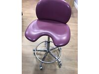Dental Chair - dentist and nurse stools