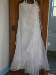 Beautiful Mermaid Wedding Dress Size 14-16