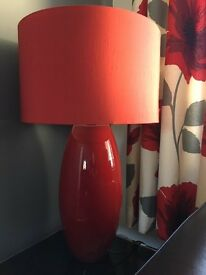 Next Red Table Lamp