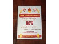 Holiday Club -Forest School 5-11 year olds