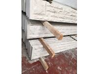 Concrete base panels/fence