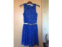 YOUNG GIRL'S M&S PARTY/XMAS DRESS AGE 7-8