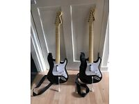 Play station rock band guitars 1 guitar £10 or £18 both