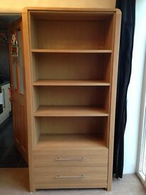 Hygena strand unit/bookcase