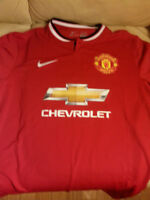 Authentic Manchester United Jerseys (Size: L; New & Used)