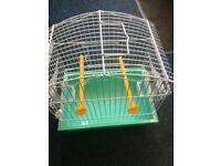 Small canary bird cage in excellent condition