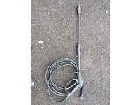Jet washer hose gun