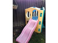 Little tykes hide and climb slide
