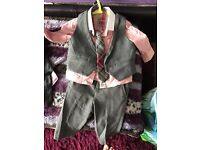 Next signature baby boy suit 3-6 months