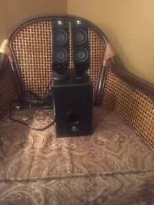 Logitech Audio Speakers with Subwoofer