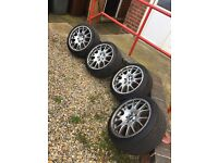 "18"" GENUINE BBS CH ALLOYS 225/40/18"