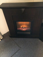 Electric Fireplace 750W/1500W