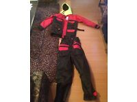 Mullion floatation suit