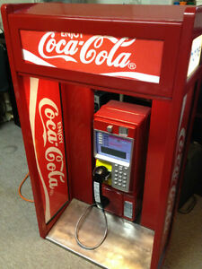 Coca Cola Real Public Payphone Rare, Collector item.