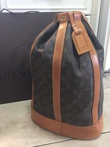 Authentic Louis Vuitton Randonée GM