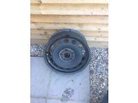 Free steel wheel