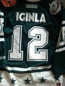 AUTOGRAPHED JERSEY MYSTERY BAGS WITH 2 SIGNED JERSEYS Edmonton Edmonton Area image 7