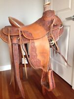 Billy Cook 16 inch saddle for sale