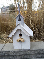 ADORABLE BIRDHOUSES MADE FROM VINTAGE BARN & DRIFT WOOD