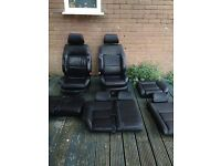 Leather seats from VW golf mk4