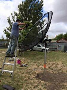 Repair Satellite Dish / Antenna lost signal, poor picture quality Lalor Whittlesea Area Preview