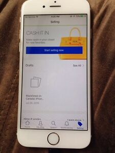 Blacklisted iPhone 6 gold 64GB
