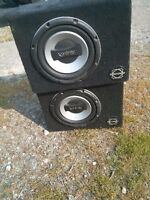 8 inch infinity subs