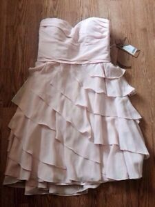 New! Pearl Pink strapless dress