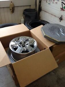 """Trade 18"""" wheels and tires for aftermarket wheels and tires"""