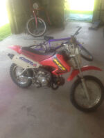 2002 honda xr70 in grate shape