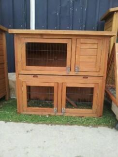 RABBIT HUTCH GUINEA PIG HOUSE FERRET $89ea BRAND NEW Skye Frankston Area Preview