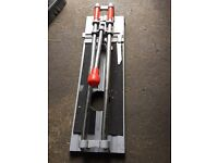 Heavy duty floor and wall ceramic tile cutter