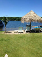 Rent a trailer cottage on Patterson Lake