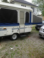 Like New 2002 Starcraft Hard Top Trailer