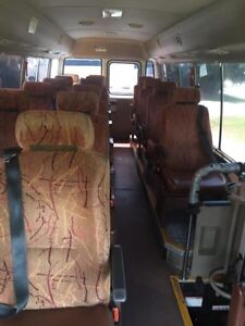 Toyota coaster bus motor home camper van seats with belts Springvale Greater Dandenong Preview