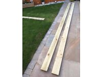 Timber gravel board treated 150mm x 22mm x 4.8m