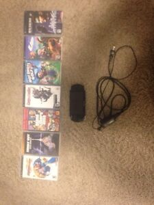 PSP with charger and games  Regina Regina Area image 1