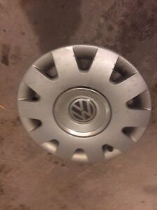 "VW steel wheels and hubcaps for sale 15"" Peterborough Peterborough Area image 1"