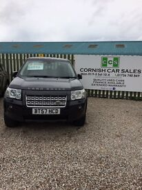 Land Rover freelander 2 xs td4 6 months warranty extended warranty available