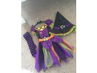 🎃🍂Halloween - Witch outfit age 3-4 (2 available)